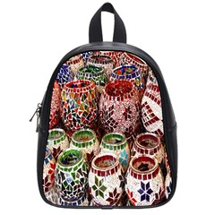 Colorful Oriental Candle Holders For Sale On Local Market School Bags (small)