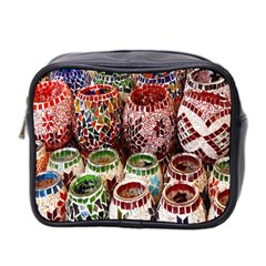 Colorful Oriental Candle Holders For Sale On Local Market Mini Toiletries Bag 2 Side
