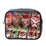 Colorful Oriental Candle Holders For Sale On Local Market Mini Toiletries Bag 2-Side Front