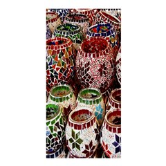 Colorful Oriental Candle Holders For Sale On Local Market Shower Curtain 36  x 72  (Stall)