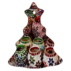 Colorful Oriental Candle Holders For Sale On Local Market Ornament (Christmas Tree)