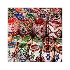 Colorful Oriental Candle Holders For Sale On Local Market Acrylic Tangram Puzzle (6  X 6 )
