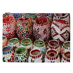 Colorful Oriental Candle Holders For Sale On Local Market Cosmetic Bag (xxl)