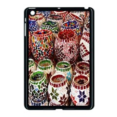Colorful Oriental Candle Holders For Sale On Local Market Apple iPad Mini Case (Black)