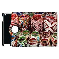 Colorful Oriental Candle Holders For Sale On Local Market Apple Ipad 3/4 Flip 360 Case
