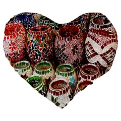 Colorful Oriental Candle Holders For Sale On Local Market Large 19  Premium Heart Shape Cushions