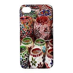 Colorful Oriental Candle Holders For Sale On Local Market Apple Iphone 4/4s Hardshell Case With Stand