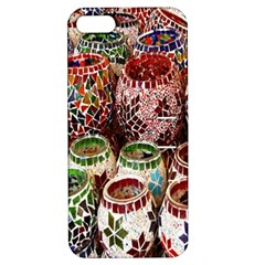Colorful Oriental Candle Holders For Sale On Local Market Apple iPhone 5 Hardshell Case with Stand