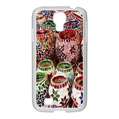 Colorful Oriental Candle Holders For Sale On Local Market Samsung GALAXY S4 I9500/ I9505 Case (White)