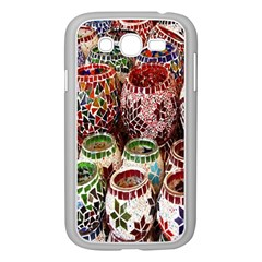 Colorful Oriental Candle Holders For Sale On Local Market Samsung Galaxy Grand Duos I9082 Case (white)