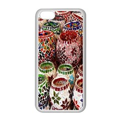 Colorful Oriental Candle Holders For Sale On Local Market Apple Iphone 5c Seamless Case (white)