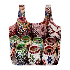 Colorful Oriental Candle Holders For Sale On Local Market Full Print Recycle Bags (l)