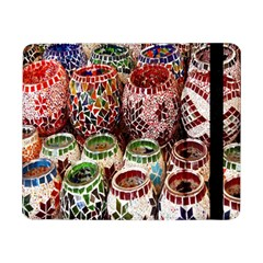 Colorful Oriental Candle Holders For Sale On Local Market Samsung Galaxy Tab Pro 8 4  Flip Case