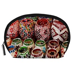 Colorful Oriental Candle Holders For Sale On Local Market Accessory Pouches (large)