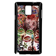 Colorful Oriental Candle Holders For Sale On Local Market Samsung Galaxy Note 4 Case (black)