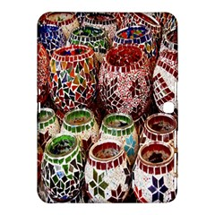 Colorful Oriental Candle Holders For Sale On Local Market Samsung Galaxy Tab 4 (10.1 ) Hardshell Case