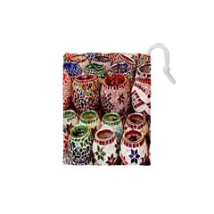 Colorful Oriental Candle Holders For Sale On Local Market Drawstring Pouches (xs)