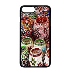 Colorful Oriental Candle Holders For Sale On Local Market Apple Iphone 7 Plus Seamless Case (black)