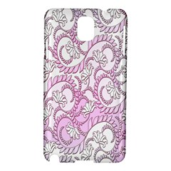 Floral Pattern Background Samsung Galaxy Note 3 N9005 Hardshell Case