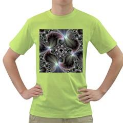 Precious Spiral Green T Shirt