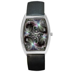 Precious Spiral Barrel Style Metal Watch