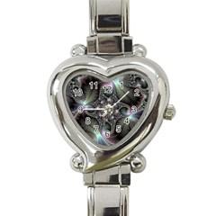 Precious Spiral Heart Italian Charm Watch