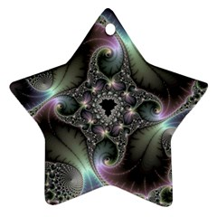 Precious Spiral Star Ornament (two Sides)