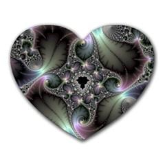 Precious Spiral Heart Mousepads