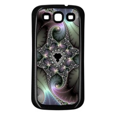 Precious Spiral Samsung Galaxy S3 Back Case (Black)