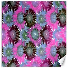 Floral Pattern Background Canvas 12  X 12