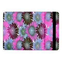 Floral Pattern Background Samsung Galaxy Tab Pro 10 1  Flip Case