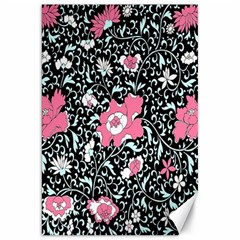 Oriental Style Floral Pattern Background Wallpaper Canvas 20  X 30