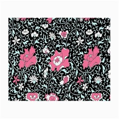 Oriental Style Floral Pattern Background Wallpaper Small Glasses Cloth (2-Side)