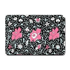 Oriental Style Floral Pattern Background Wallpaper Small Doormat