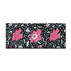 Oriental Style Floral Pattern Background Wallpaper Cosmetic Storage Cases