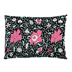 Oriental Style Floral Pattern Background Wallpaper Pillow Case