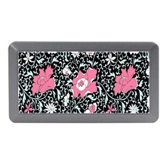 Oriental Style Floral Pattern Background Wallpaper Memory Card Reader (mini)