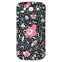 Oriental Style Floral Pattern Background Wallpaper Samsung Galaxy S3 S Iii Classic Hardshell Back Case