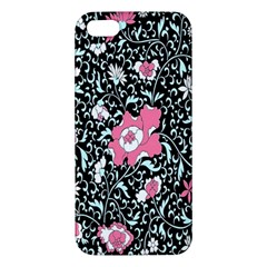 Oriental Style Floral Pattern Background Wallpaper Apple Iphone 5 Premium Hardshell Case