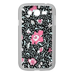 Oriental Style Floral Pattern Background Wallpaper Samsung Galaxy Grand Duos I9082 Case (white)