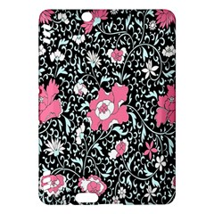 Oriental Style Floral Pattern Background Wallpaper Kindle Fire Hdx Hardshell Case