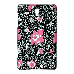 Oriental Style Floral Pattern Background Wallpaper Samsung Galaxy Tab S (8.4 ) Hardshell Case