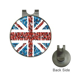 Fun And Unique Illustration Of The Uk Union Jack Flag Made Up Of Cartoon Ladybugs Hat Clips With Golf Markers
