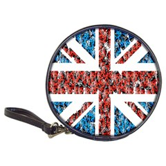 Fun And Unique Illustration Of The Uk Union Jack Flag Made Up Of Cartoon Ladybugs Classic 20 Cd Wallets
