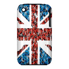 Fun And Unique Illustration Of The Uk Union Jack Flag Made Up Of Cartoon Ladybugs Iphone 3s/3gs