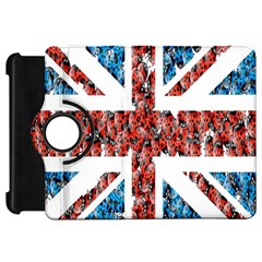 Fun And Unique Illustration Of The Uk Union Jack Flag Made Up Of Cartoon Ladybugs Kindle Fire HD 7