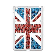 Fun And Unique Illustration Of The Uk Union Jack Flag Made Up Of Cartoon Ladybugs iPad Mini 2 Enamel Coated Cases