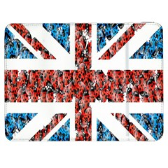 Fun And Unique Illustration Of The Uk Union Jack Flag Made Up Of Cartoon Ladybugs Samsung Galaxy Tab 7  P1000 Flip Case