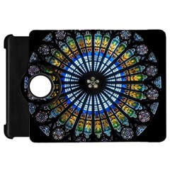 Stained Glass Rose Window In France s Strasbourg Cathedral Kindle Fire HD 7