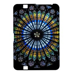 Stained Glass Rose Window In France s Strasbourg Cathedral Kindle Fire Hd 8 9
